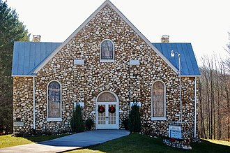 National Register of Historic Places listings in Carroll County, Virginia - Image: Buffalo Mountain Presbyterian Church