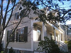 Building at 104-106 Hancock Street - Image: Building at 104 106 Hancock Street 104 106 Hancock Street, Cambridge, MA IMG 4130