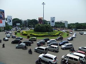 Kelapa Gading - Kelapa Gading Roundabout