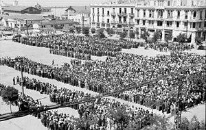 Bundesarchiv Bild 101I-168-0894-21A, Griechenland, Saloniki, Erfassung von Juden