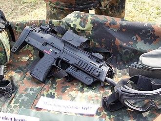 Heckler & Koch MP7 - Image: Bundeswehr MP7