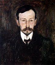 Πορτραίτο του Ιβάν Μπούνιν από τον Leonard Turzhansky