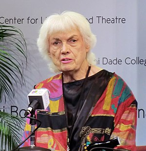 Bunny Yeager - Yeager at the Miami Book Fair International, 2012