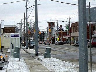 Burford, Ontario - Image: Burford during evening rush hour