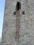 Burgruine Brandenburg-6-runder Bergfried-Leiter.jpg