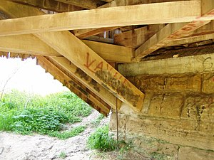 Burr Truss - Image: Burr Truss P4230099 Sims Smith