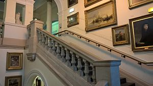 Bury Art Museum - Staircase in Bury Art Museum