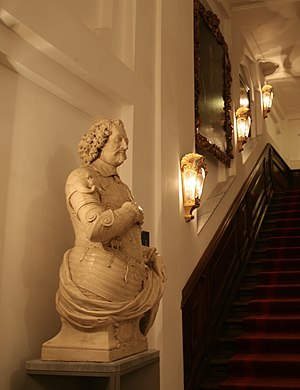 Buste Johan Maurits in het Mauritshuis