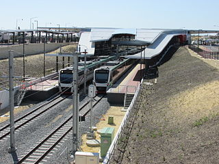 Butler railway station