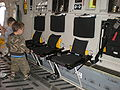C-17 Globemaster III no. 5139 cargo bay seats down.JPG