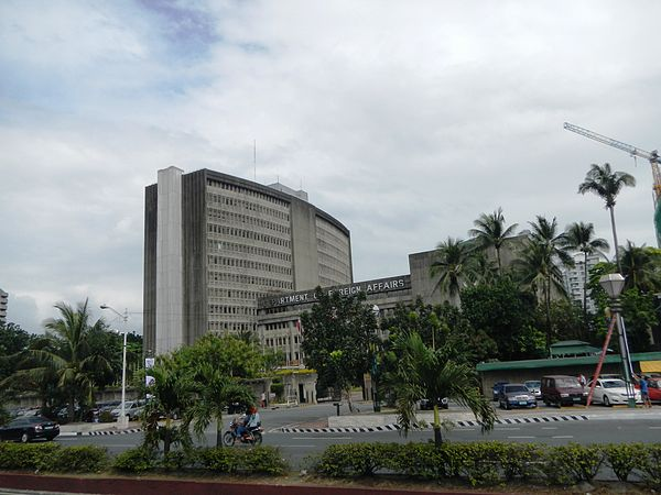 DFA Main Office, Roxas Blvd. - Department of Foreign Affairs (Philippines)