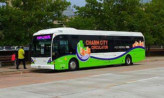 Charm City Circulator - Image: CCC Vanhool A300