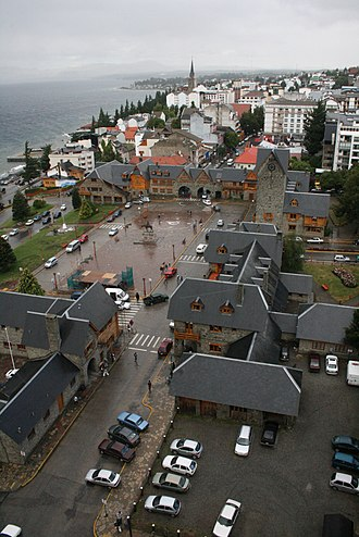 Bariloche - The Civic Centre and port