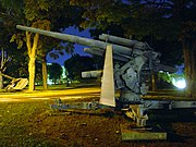 88 mm gun monument at the Royal Military College of Canada in Kingston, Ontario.