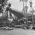 COLLECTIE TROPENMUSEUM Geslachte karbouwen tijdens een dodenfeest van de Toraja in Sadang TMnr 10028489.jpg