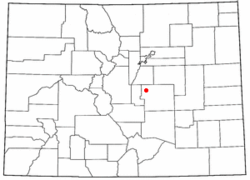 Location of Air Force Academy, Colorado