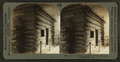 Cabin in which Abraham Lincoln was born, Hodgensville, Ky, from Robert N. Dennis collection of stereoscopic views.png