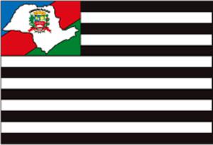 Cachoeira Paulista - Image: Cachoeirapaulista bandeira