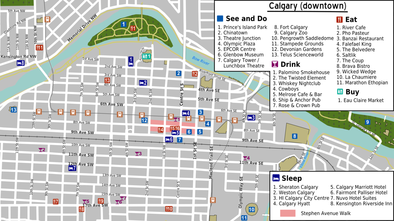 File Calgary Downtown Map Png Wikimedia Commons