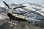 California National Guard Chinooks airlift Marines training in mountain warfare tactics to high elevation landing zones 140328-A-YY327-948.jpg