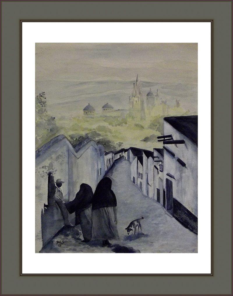 Calle 1988 - Jules Grandgagnage, aquarel.jpg