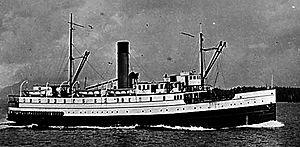 Camosun (steamship) - Image: Camosun (1905 steamship) circa 1930
