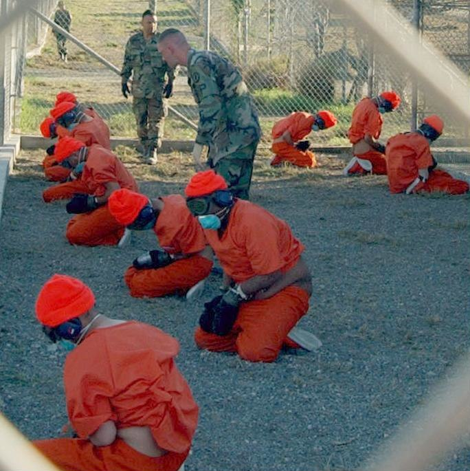 Camp x-ray detainees