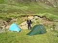Campsite under Sròn Dubh - geograph.org.uk - 1257552.jpg