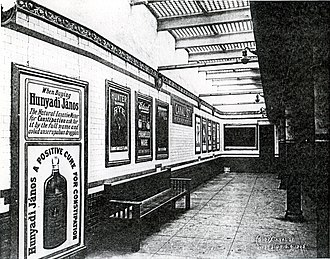 Canal Street (New York City Subway) - Image: Canal Street IRT 1905