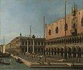 Canaletto (Venice 1697-Venice 1768) - Capriccio View of the Molo and the Palazzo Ducale - RCIN 400108 - Royal Collection.jpg