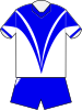 Canterbury Bulldogs home jersey 1997.svg