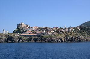 Capraia - Image: Capraia Isola panorama 01
