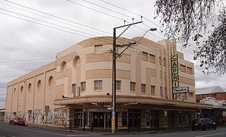 Goodwood Road, Adelaide - Image: Capri Theatre, Goodwood