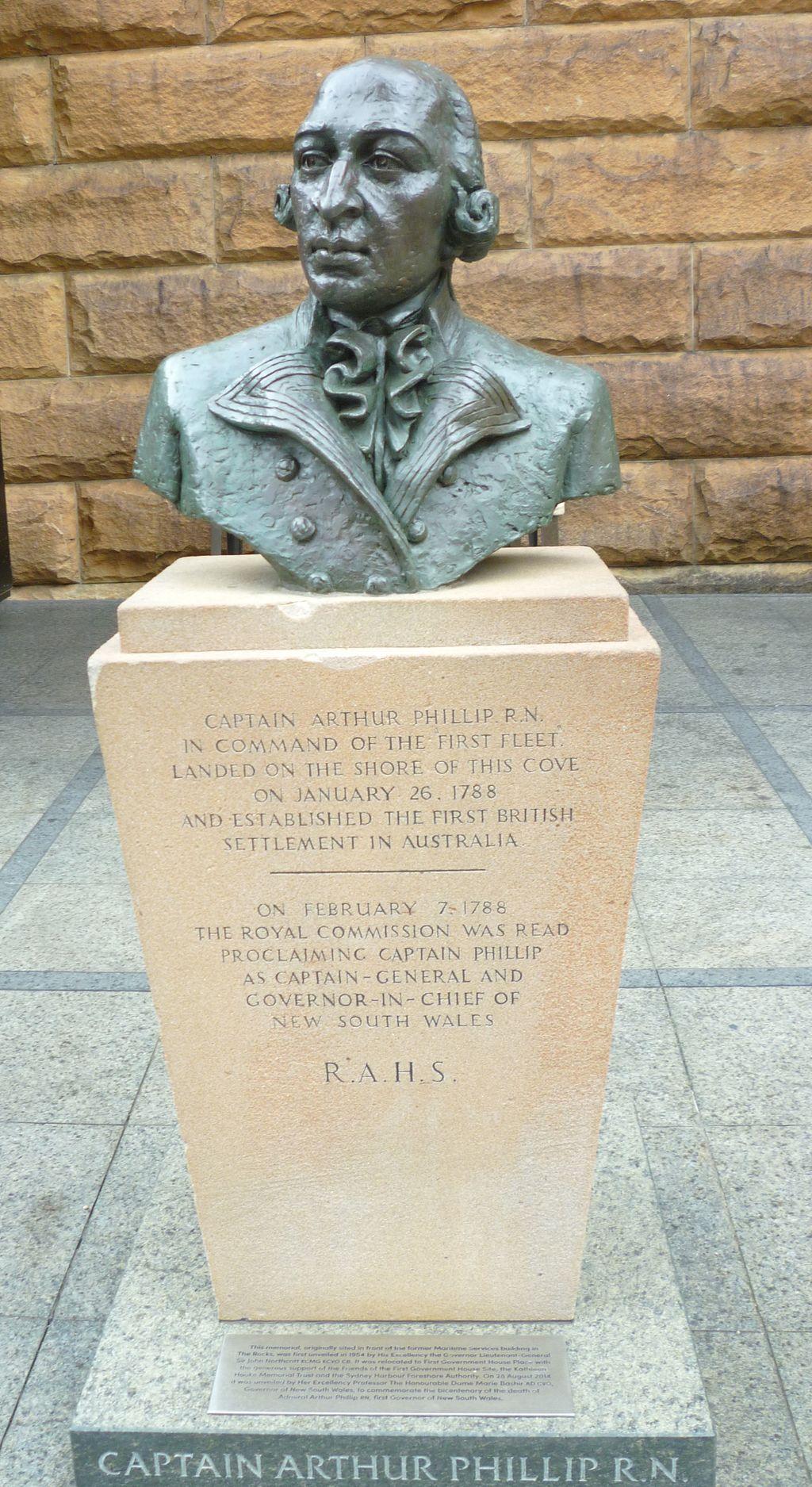 Captain Arthur Phillip Memorial