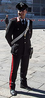 Law enforcement in Italy