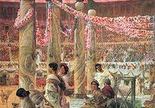 Caracalla e Geta, di Lawrence Alma-Tadema (1907).