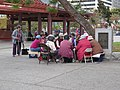 Card Players in Portsmouth Square, SF Chinatown (14966166730).jpg