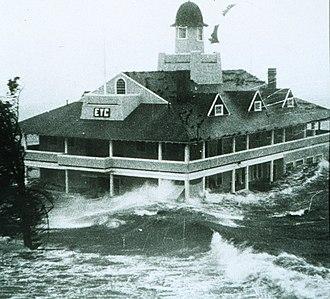 Hurricane Carol - Image: Carol in Rhode Island