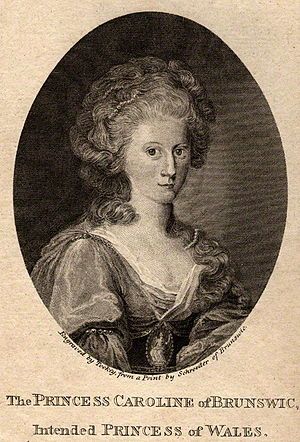 Caroline of Brunswick - Caroline in 1795, shortly before her marriage