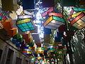 Carrers guarnits Gràcia 2012 - Tordera, Cub de Rubik 2.JPG