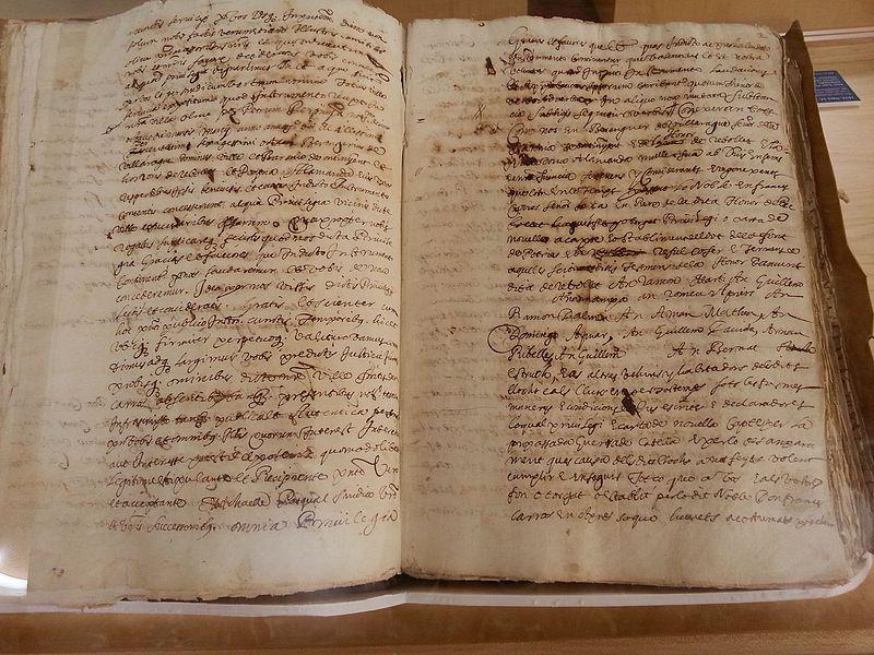 Carta puebla de Fuente Encarroz, Potríes y Rafelcofer (copia de 1627).