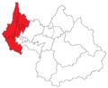 Carte 1ère circonscription de la Savoie (cantons 2015).png