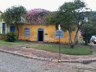 Anita Garibaldi - Home to Anita Garibaldi in Laguna, Santa Catarina, southern Brazil