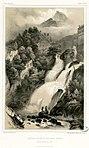 Cascade Valentin, aux Eaux-Bonnes (parcourant 62 mètres dans sa chute) (Basses-Pyrénée-Vallée d'Ossau) - Fonds Ancely - B315556101 A GORSE 9 009.jpg