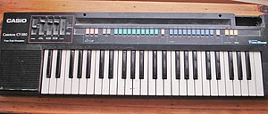 Casiotone - Image: Casiotone CT 380