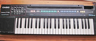 Casiotone Series of home electronic keyboards