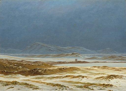 Caspar David Friedrich - Nordische Landschaft, Frühling