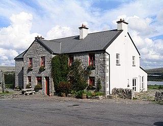 Carran Town in Munster, Ireland