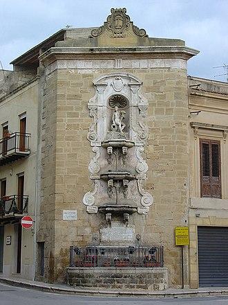 Castelvetrano - Image: Castelvetrano, Fontana della Ninfa