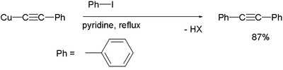 Application of Castro-Stephens coupling with phenyliodine